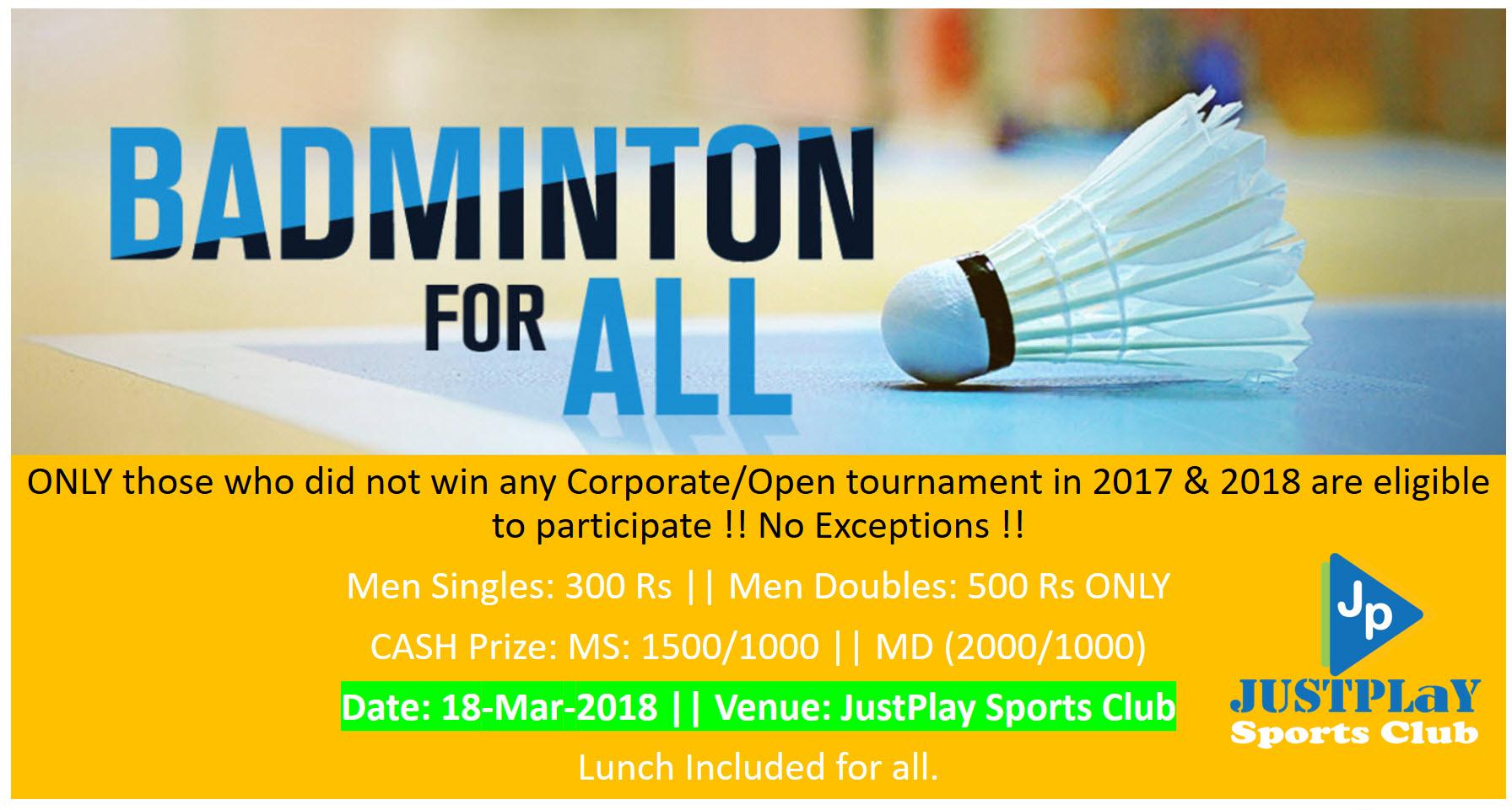 Badminton singler dating